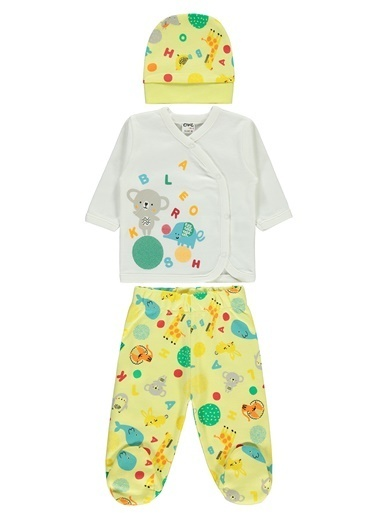 Civil Baby Zıbın Takımı  Sarı
